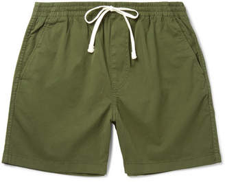 J.Crew Stretch-Cotton Twill Drawstring Shorts