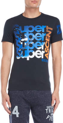 Superdry Navy Mountaineer Photo Graphic Tee