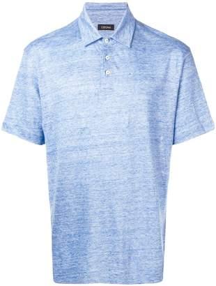 Ermenegildo Zegna short-sleeved polo shirt