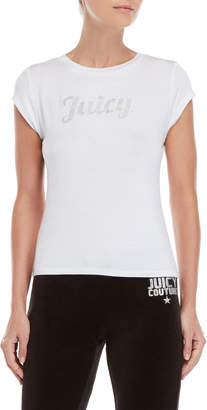 Juicy Couture Rhinestone Logo Tee