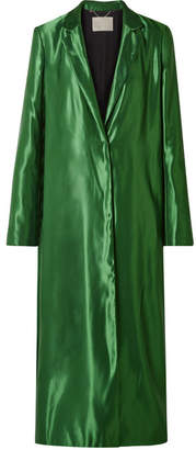 Jason Wu Satin Coat - Green
