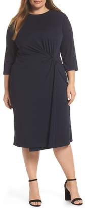 Maggy London Knot Detail Sheath Dress