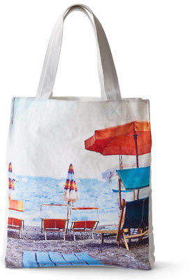 Isola NEW Med Blue Bella Canvas Tote Bag