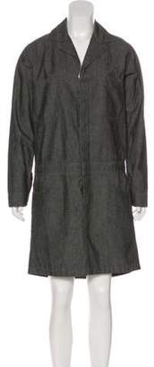 6397 Long Sleeve Denim Dress denim Long Sleeve Denim Dress