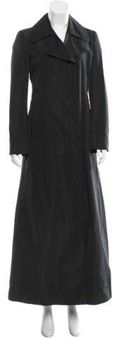 Miu MiuMiu Miu Double-Breasted Trench Coat