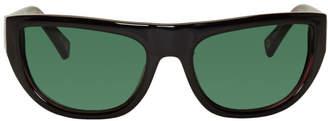 Le Specs Double Rainbouu Black Edition Night Crawl Sunglasses