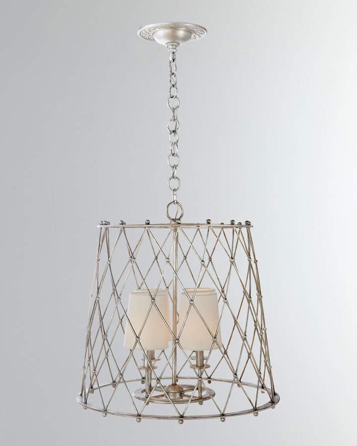 Aerin Edgerly Large Woven Lantern Light