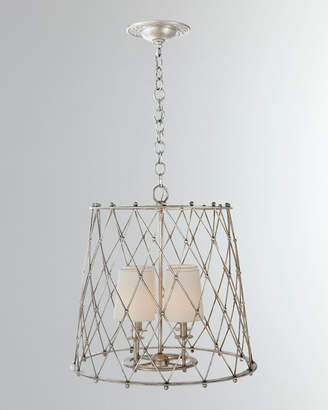 AERIN Edgerly Large Woven Lantern Light