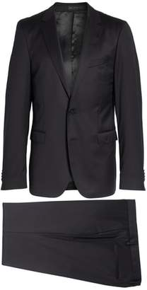 BOSS Ryan/Win Extra Trim Fit Solid Wool Suit