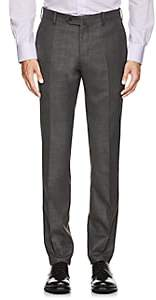 Marco Pescarolo Men's Cashmere Twill Trousers - Gray