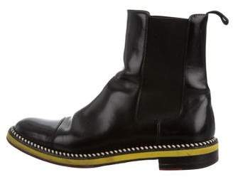 Christian Louboutin Leather Chelsea Boots