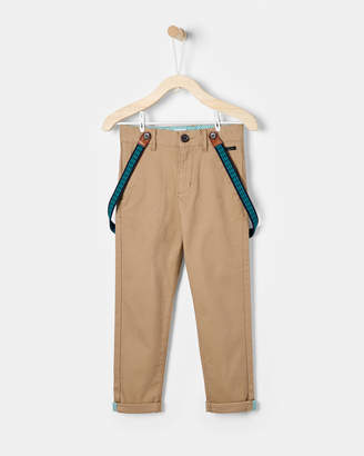 Ted Baker KONAR Chinos with braces