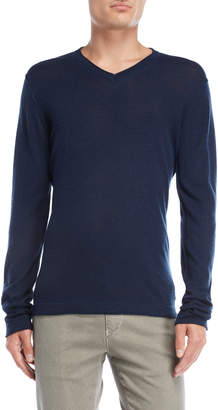 Gaudi' Gaudi Peacoat V-Neck Sweater