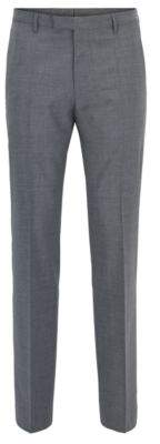 BOSS Hugo Wool Cashmere Dress Pant, Regular Fit Leenon 38R Grey
