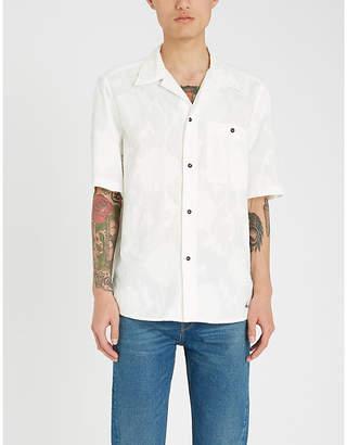 Vivienne Westwood Floral fil coupé regular-fit cotton shirt