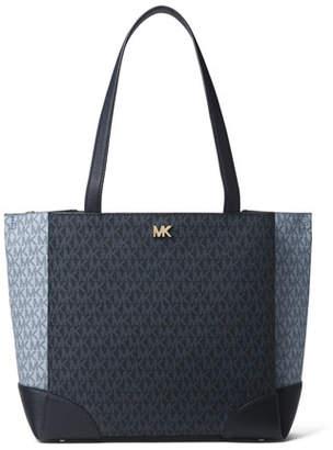 MICHAEL Michael Kors Gala Medium Colorblock Logo Shoulder Tote Bag