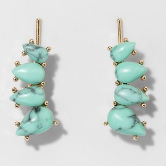 SUGARFIX by BaubleBar Teardrop Ear Jackets $9.99 thestylecure.com