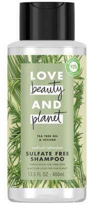 Love Beauty and Planet Love Beauty & Planet Tea Tree Oil & Vetiver Radical Refresher Shampoo - 13.5 fl oz