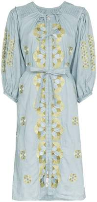 DAY Birger et Mikkelsen Innika Choo smock linen midi dress