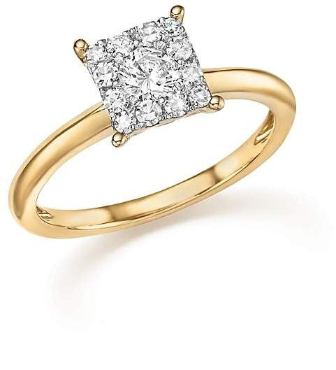 Bloomingdale'sDiamond Cluster Ring in 14K Yellow Gold, .50 ct. t.w. - 100% Exclusive