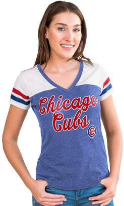 Women's Chicago Cubs Playoff Tee
