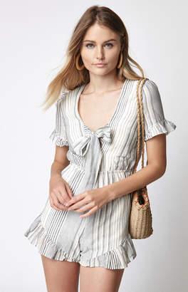 Lucca Couture Megan Front Tie Romper