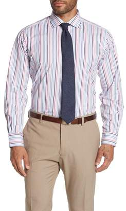 Robert Talbott Crespi IV Stripe Long Sleeve Tailor Fit Shirt