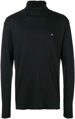 Calvin Klein Jeans turtle neck logo sweater