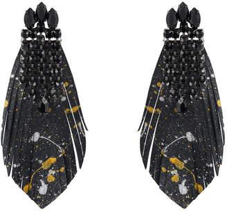 Henri Bendel Lenox Feather Ear Jacket