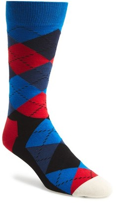 Men's Happy Socks 'Argyle' Socks $12 thestylecure.com