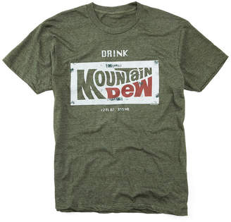 JCPenney Novelty T-Shirts Drink Mountain Dew Graphic Tee