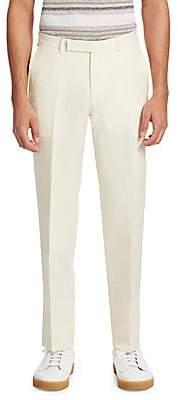 Ermenegildo Zegna Men's Classic Twill Trousers