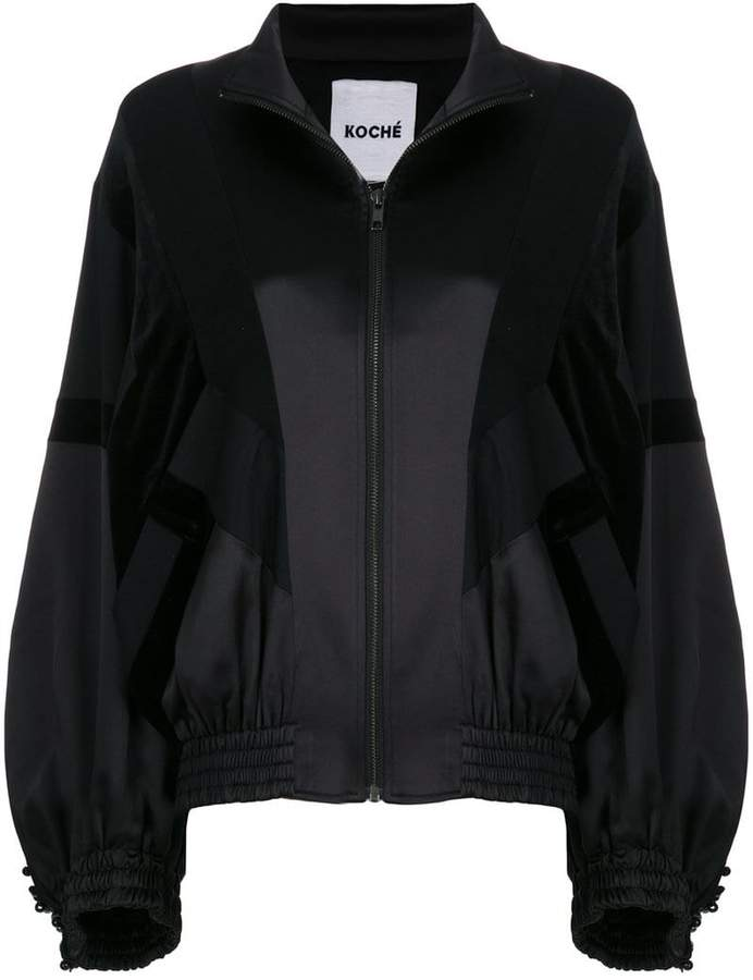 Koché zipped bomber jacket