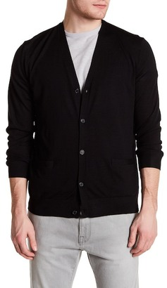 Theory Long Sleeve Cardigan $285 thestylecure.com