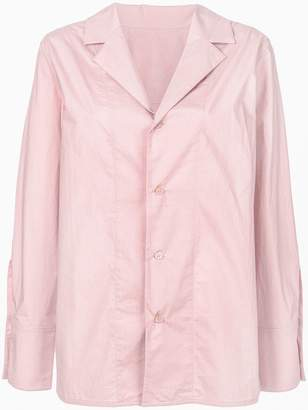 Marni notched collar shirt