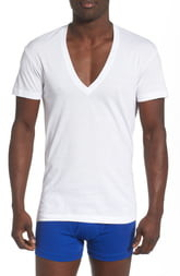 2cf292a9d288 2xist 3-Pack Slim Fit Deep V-Neck T-Shirt