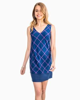 Southern Tide Emmie Plaid Sleeveless Shift Dress