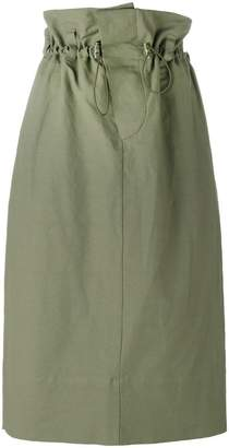 Stella McCartney paper bag waist skirt