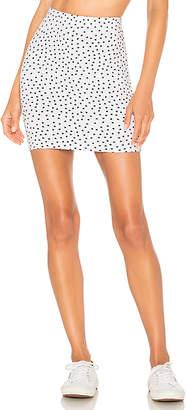 Indah Molten Mini Skirt