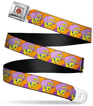 Buckle-Down Men's Seatbelt Belt Tweety Regular