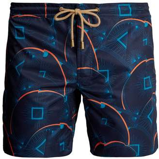 THORSUN Titan-fit Sunburst-print swim shorts