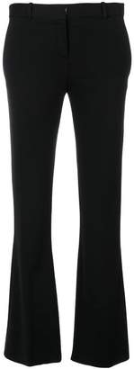 Versace kick flare trousers