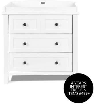 Silver Cross Nostalgia Dresser - Pure White
