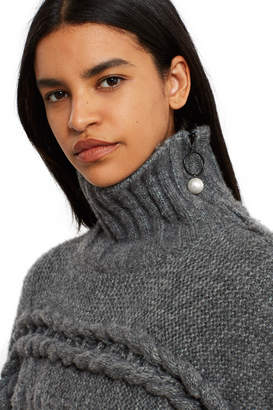Opening Ceremony Oversized Cable Turtleneck