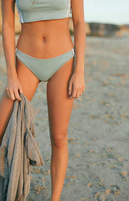 Kendall & Kylie Binding High Cut Bikini Bottom