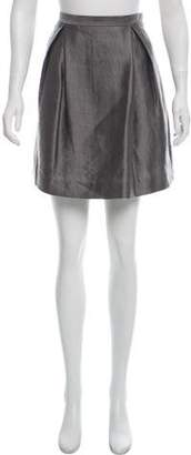 3.1 Phillip Lim Metallic Mini Skirt