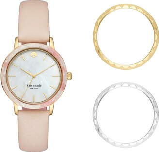 Kate Spade Morningside Scallop Watch Set, 34mm