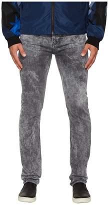 Versace Slim Fit Jeans in Medium Grey Wash Men's Jeans