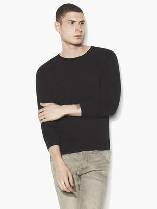 John Varvatos Raw Edge Crew Neck