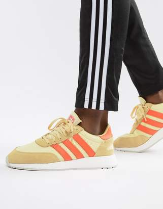 promo code 169d8 388bf adidas I-5923 Leather Sneakers In Yellow D96604